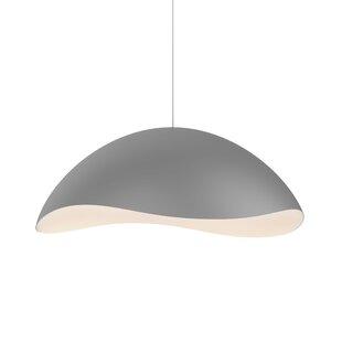 Orren Ellis Frazier 1-Light LED Pendant
