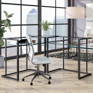 Reviews Computer L-Shape Computer Desk ByMercury Row