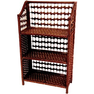 Rattan Standard Bookcase by Oriental Furniture Savings