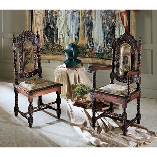 Design Toscano Charles II Dining Chair