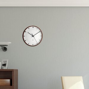 Analoge Wanduhr Funk 25.5 cm