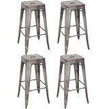 Anton 23.63 Bar Stool (Set of 4) by Williston Forge