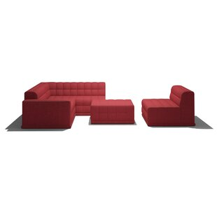 Low priced Bump Bump Modular Sectional by TrueModern Reviews (2019) & Buyer's Guide