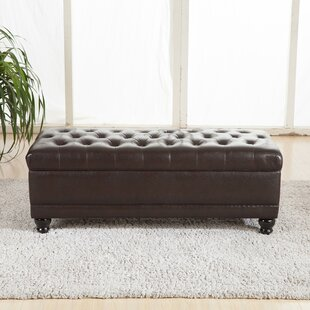 Bellasario Collection Luxury Comfort Upholstered Storage Bench
