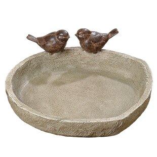 Whole House Worlds Sparrow Birdbath