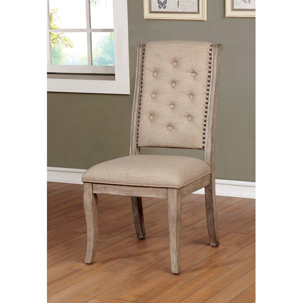 One Allium Way Annora Upholstered Dining Chair Wayfair