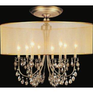 8-Light LED Flush Mount by..