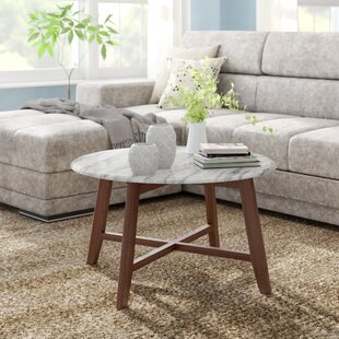 Grafton Faux Marble Coffee Table By Wrought Studio