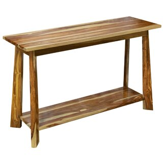 "Cassidy 48"" Solid Wood Console Table by Loon Peak SKU:AA691199 Information"