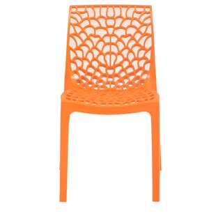 Wrought Studio Gerardi Commercial Grade Stacking Patio Dining Chair