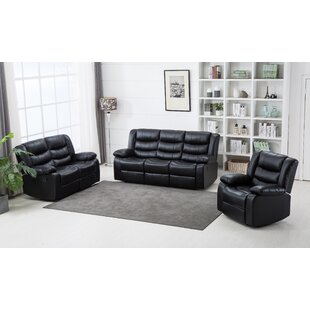 Castlereagh 3 Piece Reclining Living Room Set by Winston Porter