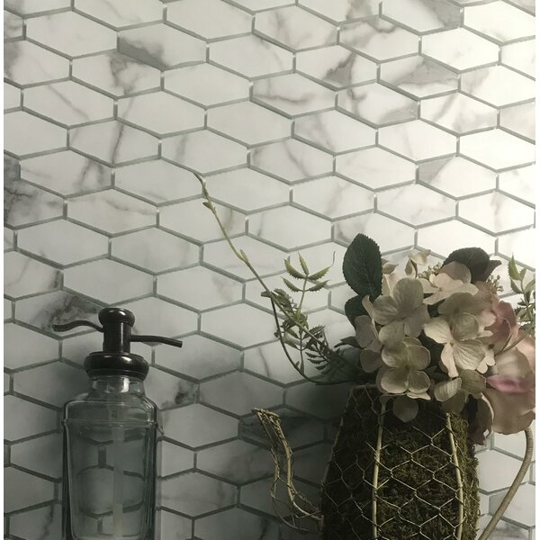 Elongated Hexagon Tile Backsplash Wayfair
