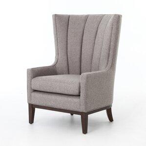 elderton channelled wingback chair
