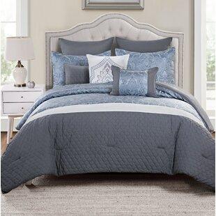 Charlton Home Kailey 8 Piece Comforter Set