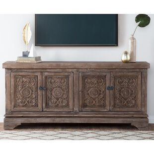 Steinhatchee Reclaimed Pine 4 Door Sideboard by Bungalow Rose