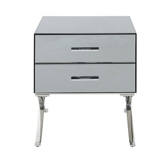 Vanhorn 2 Drawer Accent Chest by House of Hampton