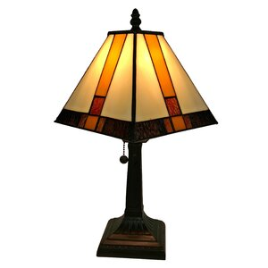 Tiffany Mission 15″ Table Lamp