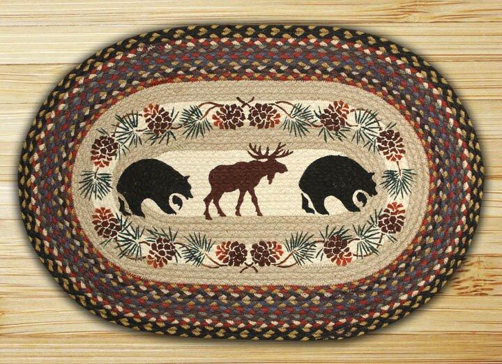 Bear Moose Rug from Wayfair!
