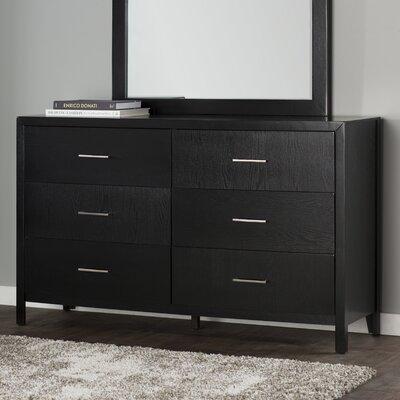 Brayden Studio Debary 6 Drawer Double Dresser