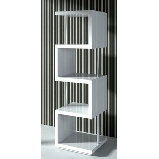Belafonte Geometric Bookcase by Wade Logan Cheap