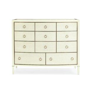 Birdseye Maple 11 Drawer Dresser