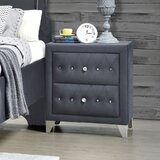 Americus 2 - Drawer Nightstand by Rosdorf Park
