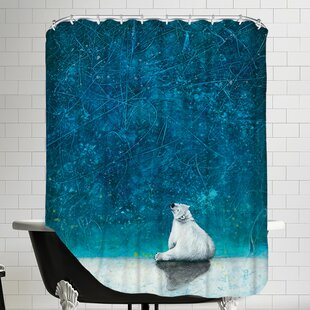 Wishing on Stars Single Shower Curtain