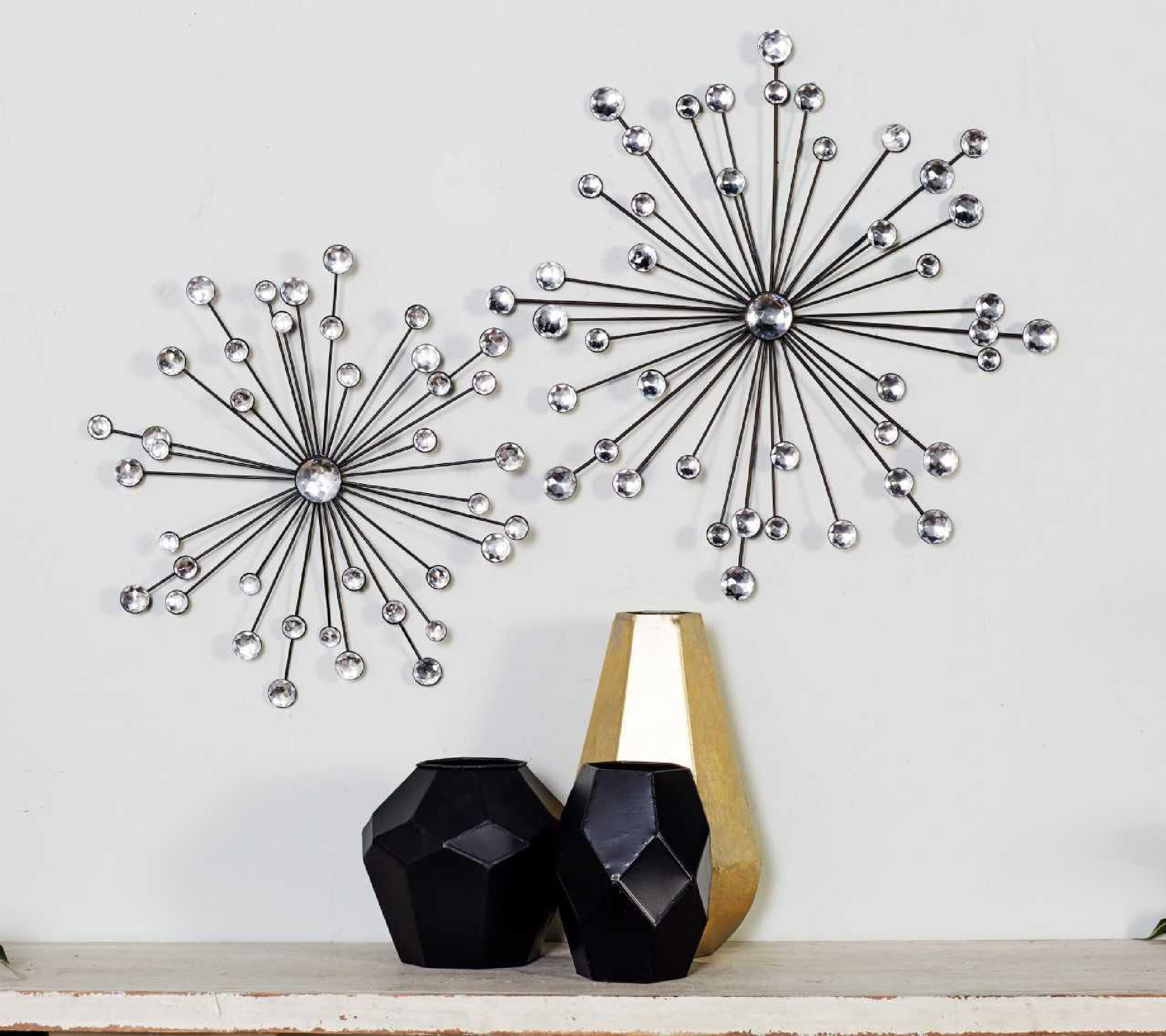 3 Piece Metal Wall Accents Arts You Ll Love In 2021 Wayfair