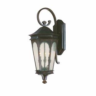 Weber 3-Light Outdoor Wall Lantern by Cha..