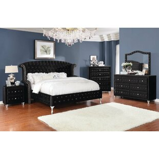 Burlingame Upholstered Panel Bed by House of Hampton