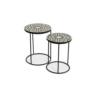 Redington 2 Piece Nesting Tables by Bloom..