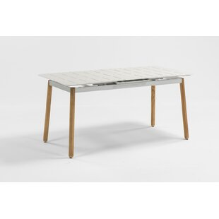 Aule Extendable  Aluminium Dining Table By Sol 72 Outdoor