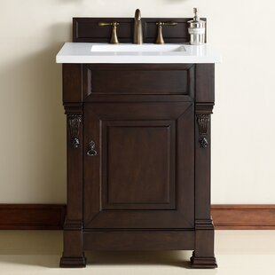Bedrock 26 Single Antique Black Bathroom Vanity Set by Darby Home Co