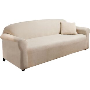 Madison Home Stretch Microfleece Box Cushion Sofa Slipcover