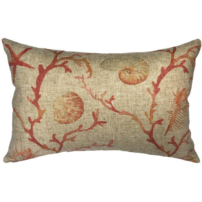 coral medium pillows mosaic modern pillow lumbar