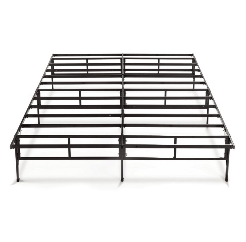 Alwyn Home Higbee Easy to Assemble Smartbase Bed Frame | Wayfair
