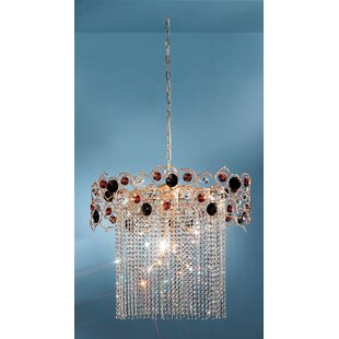 Foresta Colorita 10-Light Chandelier by Classic Lighting