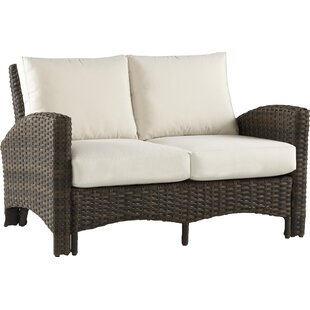 Bloomsbury Market Allerone Loveseat with Cushions