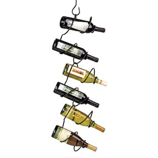 Climbing Tendril 6 Bottle Hanging Wine Bo..