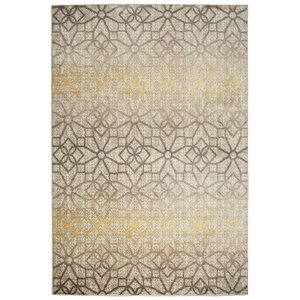 Culver Floral/Geometric Ivory Area Rug