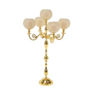 Candelabra Plastic Candle Holders You Ll Love In 2021 Wayfair