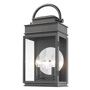 Fulton 2-Light Outdoor Wall Lantern by Ar..