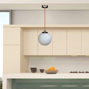 Evadne 1-Light Pendant by Wrought Studio