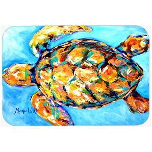 Sand Dance Turtle Glass Cutting Board ByCaroline's Treasures