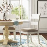 Jaclin Linen Ladder Back Side Chair (Set of 2) by Kelly Clarkson Home