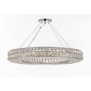 Linsey 17-Light Crystal Chandelier by Ros..