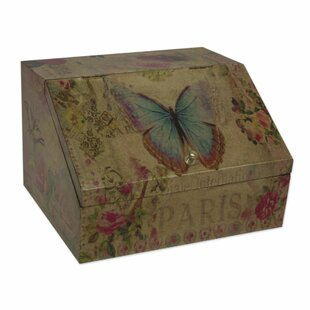 Price comparison Decoupage Butterfly Enchantment Jewelry Box By August Grove