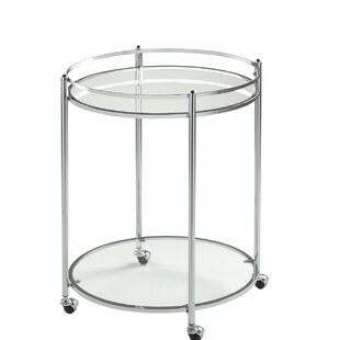 Veranda Round Bar Cart by Offex