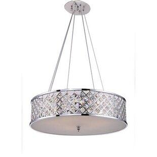 Rosdorf Park Mcdowell 3-Light Crystal Chandelier