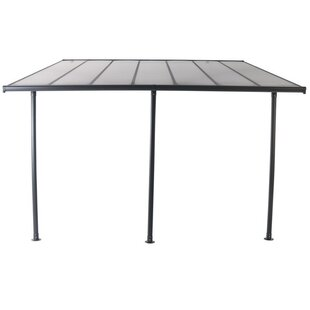 Delcastillo 4 X 3m Aluminium Patio Gazebo By Sol 72 Outdoor